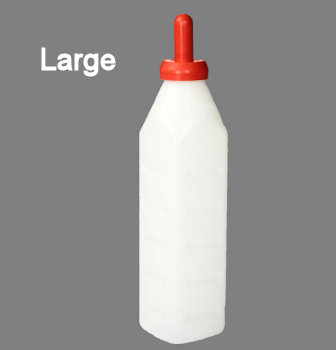 Large calf feeding bottle