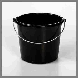 Calf Tel Black Bucket