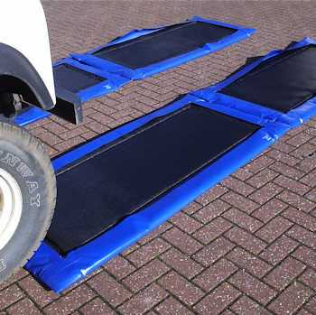 Vehicle Disinfectant Mats