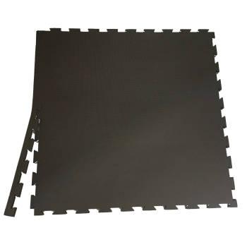 Black interlocking EVA mats