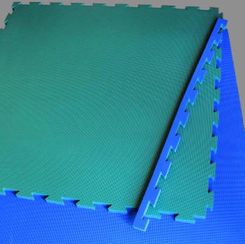 millking parlour pit mat blue green