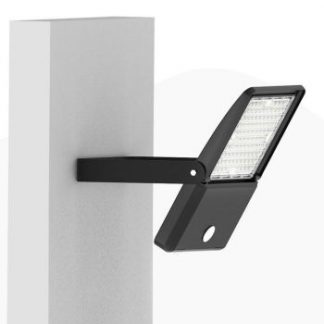 LED Flood light for yards attached with bracket